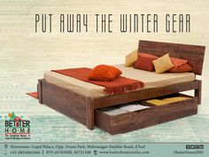 Put Away The Winter Gear - Better Home   #BetterHome  #Furniture #Ahmedabad #Homedecor #HomeFurniture #WoodenFurniture #AhmedabadFurniture