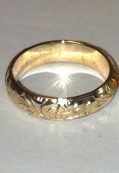 Hey, I found this really awesome Etsy listing at https://www.etsy.com/listing/190450825/gold-filled-ringer-ring-band-beach