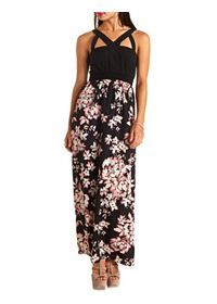 Chiffon, Strapless & Long Sleeve Maxi Dresses: Charlotte Russe