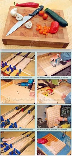 DIY Chopping Block - Woodworking Plans and Projects WoodArchivist.com