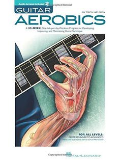 Guitar Aerobics: A 52 Week One Lick Per Day Workout Program For Developing Improving And Maintaining Guitar Technique Bk/online Audio Music Theory Guitar, Guitar Chord Chart, Guitar Songs, Guitar Tabs, Guitar Chords, Ukulele, Guitar Quotes, Buy Guitar, Acoustic Guitars