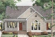 Farmhouse Style House Plan - 3 Beds 2 Baths 1539 Sq/Ft Plan #406-265 Exterior - Front Elevation - Houseplans.com