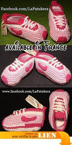 Chaussons bébé, le style Nike, 100% coton.  #Guild Product #GUILD_BABY