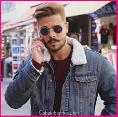 5 Men's Hairstyles for Summer 2017 side haircut mens Latest Haircuts, Trending Haircuts, Haircuts For Men, Popular Haircuts, Mustache Styles, Mustache Men, Mens Summer Hairstyles, Trendy Hairstyles, Hair And Beard Styles