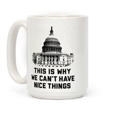 This Is Why We Can't Have Nice Things #politics #congress #democrat #coffeemug #mugs