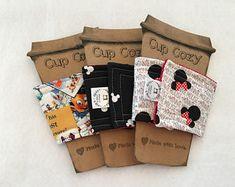 Cup Cozy | Disney |Mickey | Handmade | Coffee Sleeve | Tea Cozy | Birthday | Get Well | Housewarming| Congrats | Teacher Gift | Mom