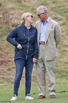 Prince Charles Photos - Zara Phillips and Prince Charles, Prince of Wales attend the Gigaset Charity Polo Match at Beaufort Polo Club on June 2015 in Tetbury, England. - The Duke of Cambridge and Prince Harry Play in Gigaset Charity Polo Match