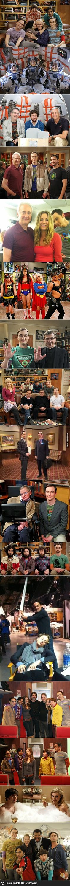Impresionantes fotos del backstage de The Big Bang Theory  !!!!!!!!!!!!!!