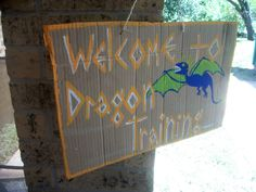 How to train your dragon themed party