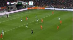 What a hit! Gif Of The Day, Soccer, Football, Sports, Hs Sports, Futbol, Futbol, European Football, European Soccer