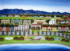 Napier 2 by Sarah Platt for Sale - New Zealand Art Prints