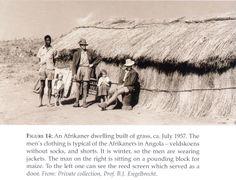 Afrikaner Reed and Grass Dwelling - Angola, 1957 Folk Music, Underworld, Archaeology, Trek, Grass, Africans, Grasses, Herb, Folk