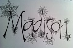 Looking forward to adding color to Madison