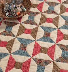 Spool Quiltin more Take 5 Quilts Book
