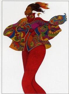 charles bibbs | Charles Bibbs-The Mask Affair. Limited Edition Print (Giclee, Paper)