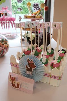 Enchanted Forest Cake Pops by Violeta Glace