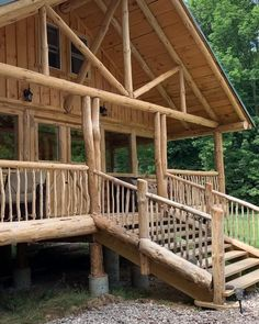 How To Build A Log Cabin, Small Log Cabin, Building A Cabin, Tiny House Cabin, Cabin Homes, Log Homes, Metal Building Homes, Cozy Cabin, Rest House