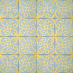 Lucifer C39-2-15 - moroccan cement tile