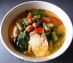 The Way I Cook: Chicken & Summer Vegetable Soup