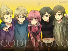 Code Lyoko (I just realized that I have an OTP for everyone but Odd. The closest thing to one for him is food)