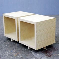 Would love it as end tables...when company comes over, turn it around so that they can't see your newspaper/magazine mess!!!