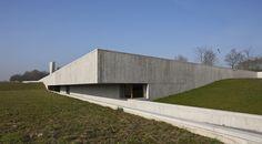 """Crematorium """"Uitzicht""""  Arrondissement di Courtrai / Belgium / 2011    Sum Project  Principal Architect    Eduardo Souto de Moura"""