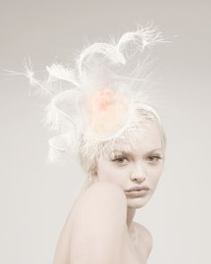 fascinator by TATIANA RAKHMANINA #millinery #hats #HatAcademy
