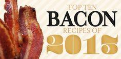 Bacontoday.com's Top Ten Bacon Recipes of 2013!