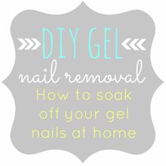 DIY Gel Nail Removal: How to soak off your gel nails w/ tips from a pro