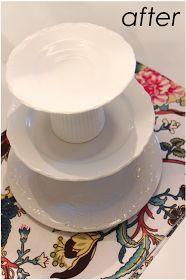 danielle oakey interiors: $3.25 diy dessert tray