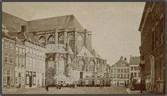 De Markt in 1865.