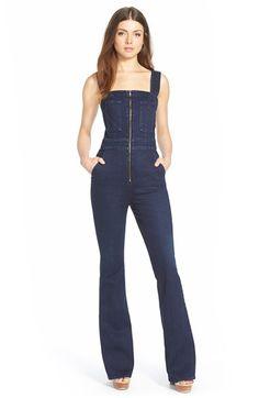 rihanna in armani jeans jumpsuit kinda loving this it. Black Bedroom Furniture Sets. Home Design Ideas