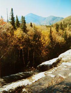 2.28.2015.Indian Falls, Adirondack High Peaks, NY, oct 1, 1989.