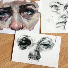 Small sketches by Ellie Smallwood Portrait Male, Elly Smallwood, A Level Art, High Art, Art Sketchbook, Oeuvre D'art, Love Art, Les Oeuvres, Art Inspo