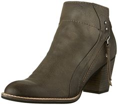 Dolce Vita Women's Jessie Charcoal Leather Sandal Dolce Vita-$149.50