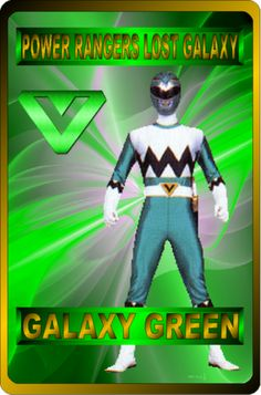 Galaxy Green by rangeranime on @DeviantArt