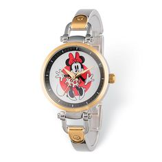 Disney Adult Size Minnie Mouse Two-tone Watch