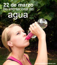 El agua es necesaria para la supervivencia de cada ser vivo. Es vital que la cuidemos y valoremos. Hoy en el día internacional del agua les compartimos los beneficios de tomarla. http://www.remediocaseronatural.com/vida-saludable-beneficios-agua.htm