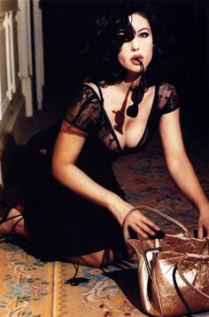 Monica Bellucci Photo by © Ellen von Unwerth