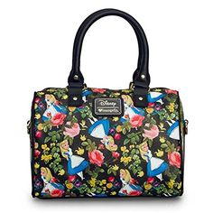 Loungefly Alice In Wonderland Floral Cross Body