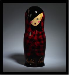 Matryoshka dolls designed by Ralph Lauren to celebrate the 10th birthday of Vogue Russia magazine.