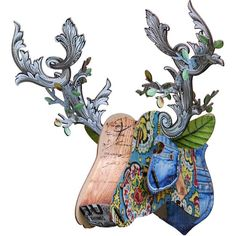 more images: Miho Big Deer The Emperor Stag Head Wall Trophy