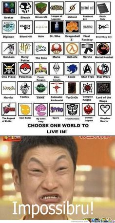 Um...wow. Devil May Cry, Soul Eater, Doctor Who, Pokemon, Yu-Gi-Oh, Kingdom Hearts, Naruto, Digimon