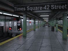 NYC Subway Station Model available on Turbo Squid, the world's leading provider of digital models for visualization, films, television, and games. College Aesthetic, City Aesthetic, Nyc Life, City Life, La Reverie, 3d Architecture, 42nd Street, Nyc Subway, Dream City