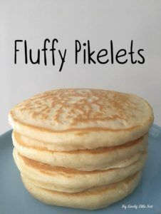Yummy Pikelets - My Lovely Little Nest Bake Off Recipes, Baking Recipes, Cake Recipes, Dessert Recipes, Mini Pie Recipes, Köstliche Desserts, Delicious Desserts, Yummy Food, Pikelet Recipe