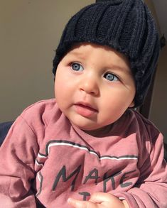 Image may contain: 1 person, closeup Cute Little Baby, Little Babies, Cute Babies, Kids Laughing, Pretty Images, Everything Baby, Baby Fever, Baby Photos, Kids Fashion