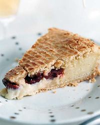 Gateau Basque: This is a recipe similar to one I use, but with fruit filling. It's great with apricot preserves