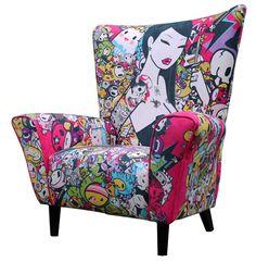 Tokidoki omg i want this chair