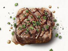 Steak App Icon by Eddie Lobanovskiy. 18 Mouthwatering Food #App #Icons