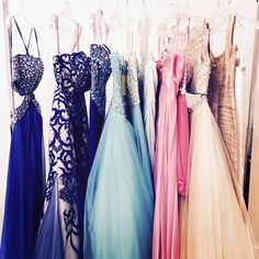 It's always a busy day at Charlotte's Closet! Ready for all of our prom appointments! Want to come by the NYC showroom? Book yours now - email reservations@charlottes-closet.com